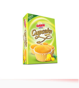 Dawn Pineapple Cupcake