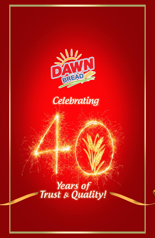 Dawn Bread 40th Anniversary